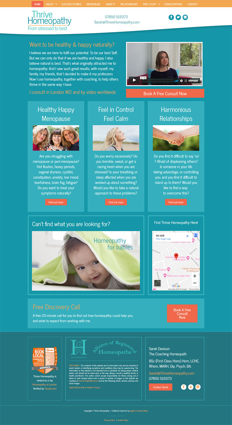 Thrive-Homeopathy-Website-Design