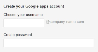 setting up your google apps for work account