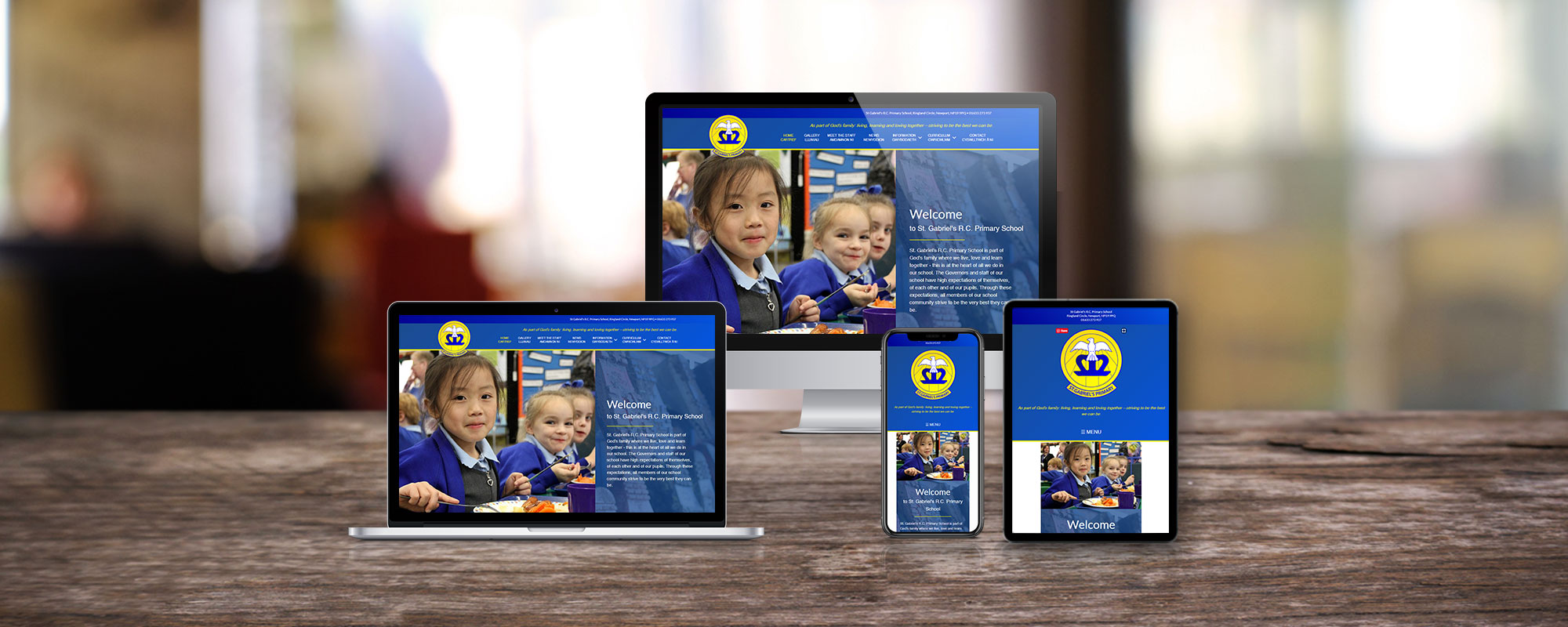 St-Gabriels-Primary-School-Web-Design